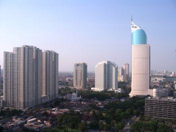 Jalan Sudirman -- Indonesia's business heart